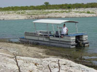 personal pontoon boat