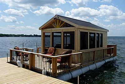 Pontoon Porch boat